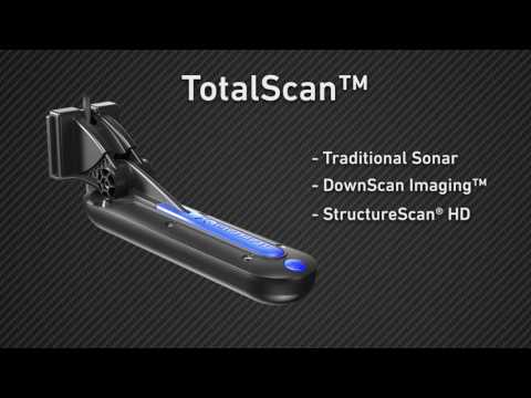 Lowrance Elite Ti - the TotalScan Transducer