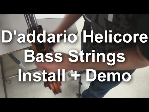 Gear Review #7 - D'Addario Helicore Bass Strings