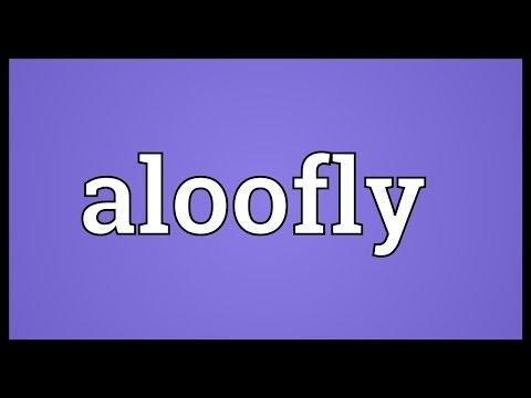 Header of aloofly