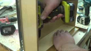 Building Custom Oak Cabinets Episode 12-mounting The Drawer Fronts