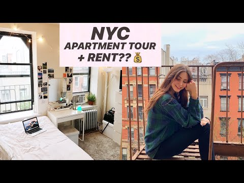 NYC APARTMENT TOUR/ HOW MUCH IT COSTS TO LIVE IN NYC