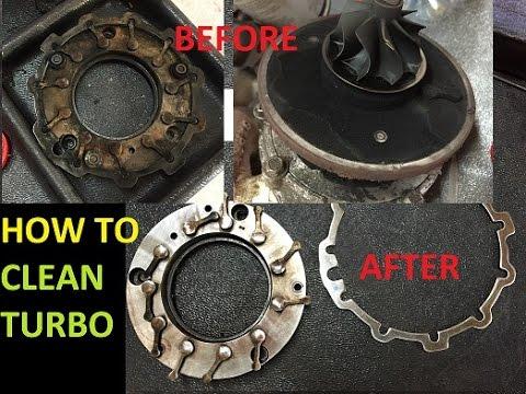 How to clean your turbo | Čistenie turba