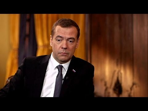 """Medwedew im Euronews-Interview: """"Bodenoffensiven würden einen langen Krieg bedeuten"""""""