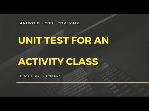 Android App Development For Beginners - 26 - Android - Unit Test For Activity - Activity Test Rule