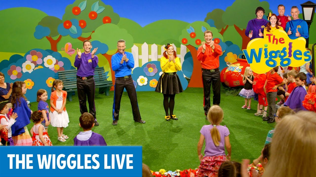 The Wiggles: Can You (Point Your Fingers and Do The Twist?) | Kids Songs