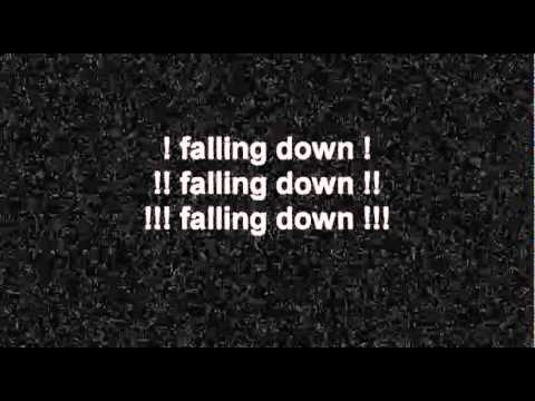 Atreyu-falling down (lyrics)