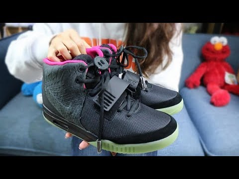 The Lastest Batch Rep Nike Air Yeezy 2 Pure Platinum/Solar Red