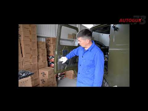 Видео инструкция по установке цельного стекла на УАЗ 452 Буханка с ЭСП