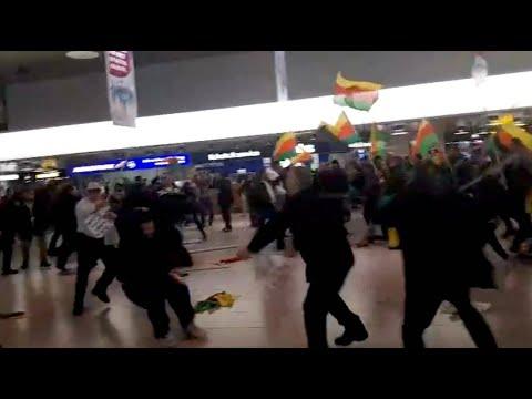 Hannover: Faustkämpfe zwischen Türken und Kurden