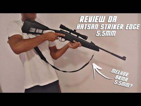 Review da Hatsan Striker Edge 5.5mm (Boy do Rifle)