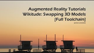 Wikitude: Swapping 3D Models [Full Toolchain]