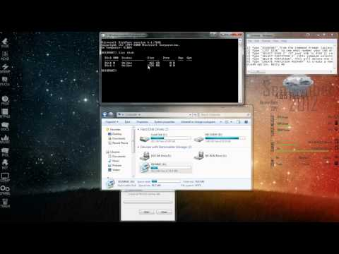 HOW TO: Restore USB Drive Back to Full Capacity