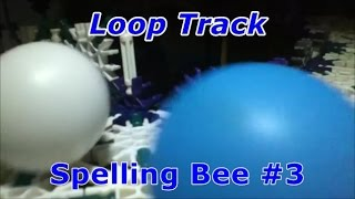 Ping Pong Ball Race: Thanksgiving Spelling Bee #3