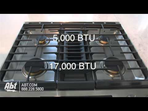 Jenn-Air 30 Stainless Steel Slide-In Electric Downdraft Range JES1750ES - Overview