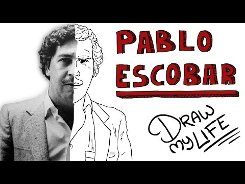 PABLO ESCOBAR | Draw My Life