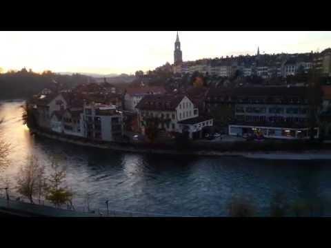 Bern (Switzerland) Bärengraben/Aare 20141120 165356