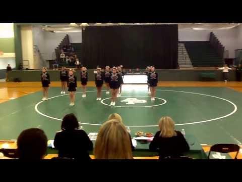 Northwest Varsity Cheer Round 2 Districts @ Allen Park high school 2/15/14