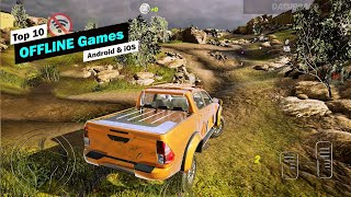 Top 10 Best Offline Games For Android & Ios 2019! [good Graphics]