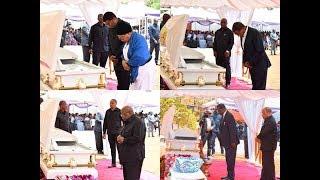 """Viongozi Maarufu waliomzika Dada yake Rais Magufuli """"Kikwete, Mwinyi, Mkapa, Odinga"""" na wengine"""