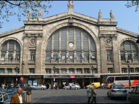 A Walk Around Gare Du Nord, Paris