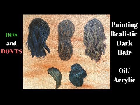 Painting Dark hair– Dos and don'ts –...