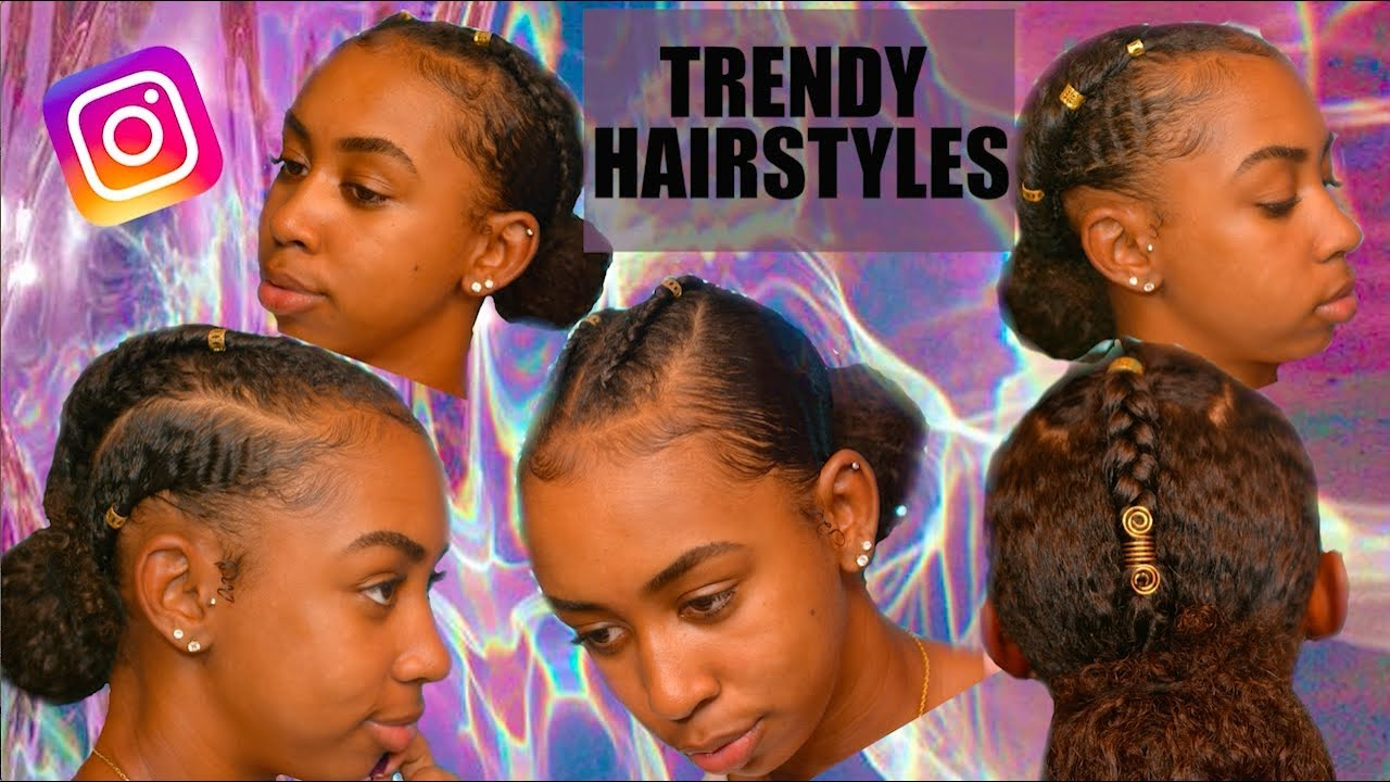 Trendy Instagram Curly Hairstyles Youtube