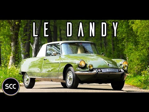 CITROËN DS 21 M COUPÉ LE DANDY 1965 - Henri Chapron - Full test drive in top gear | SCC TV