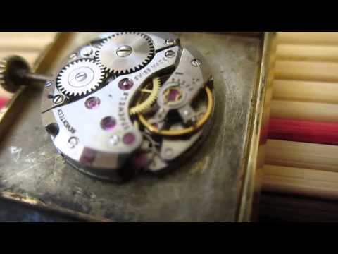 Vintage Leuba Louis Geneve watch
