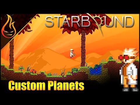 Starbound Planet Transponder Mod Spotlight
