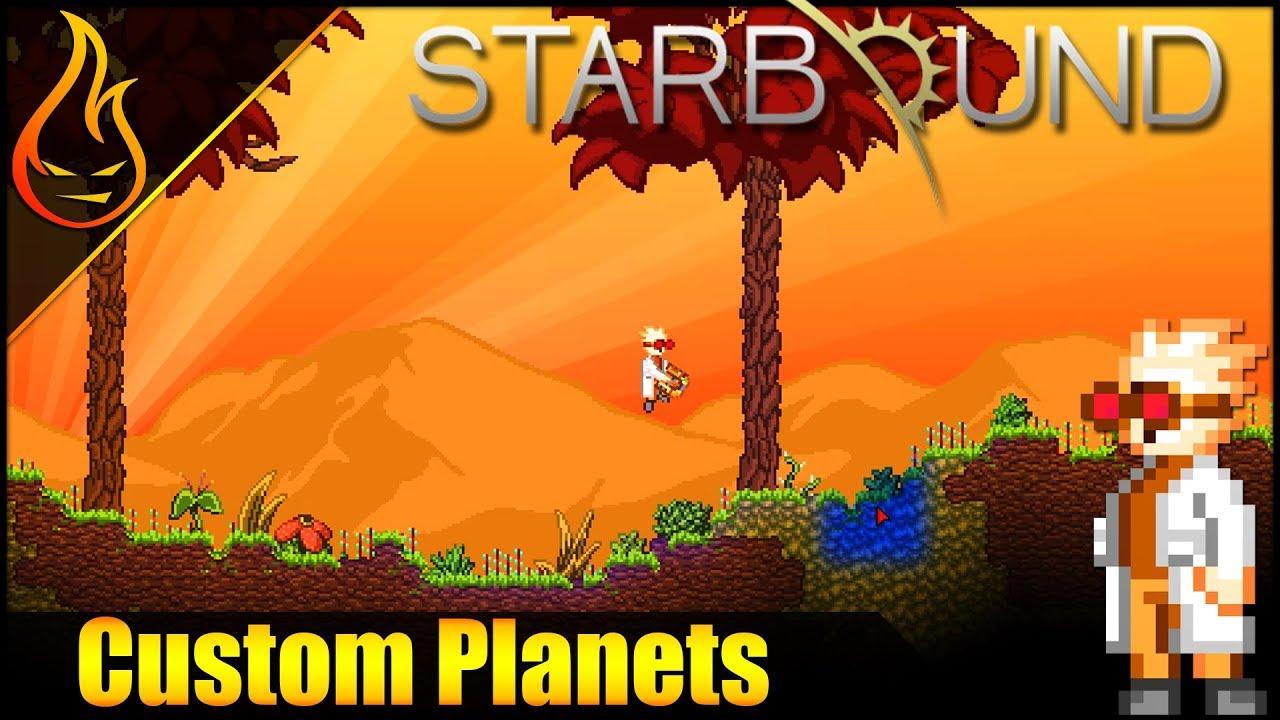 Starbound Planet Transponder Mod Spotlight Youtube