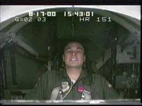Flight Surgeon in a Centrifuge