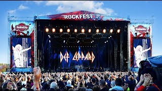 Rockfest Finland - Def Leppard Hits Europe