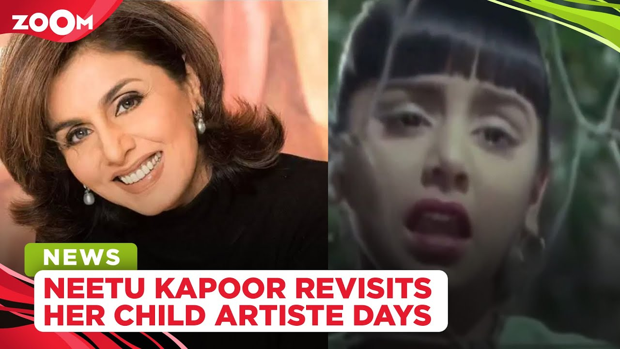 Neetu Kapoor shares a throwback video from Do Kaliyaan, says she used to apply a lot of makeup