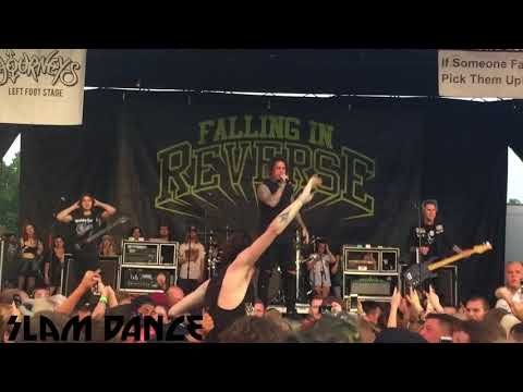 Falling In Reverse - I'm Not A Vampire / Superhero - Live - Vans Warped Tour 2017