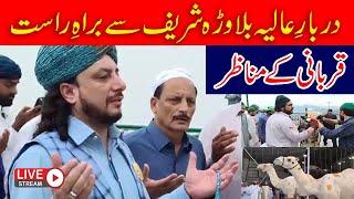 #Live Qurbani At Darbar e Aliya Balawara Shareef   Haq Khatteb Hussain   2020