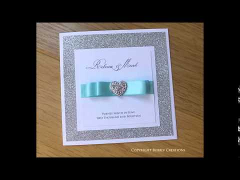 Blue, Turquoise, Aqua, Navy Wedding Invitations And Stationery   YouTube