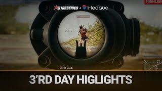 Best highlights of the 3'rd day,  StarSeries i-League PUBG