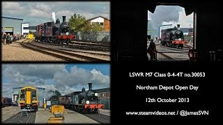 30053 at Northam Depot Open Day 12-10-13