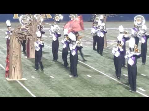 Denham Springs High school marching band