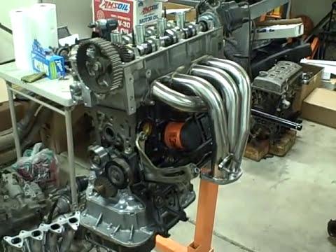 7afe 4afe engine rebuild Timing AVI