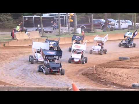 Shippensburg Speedway Micro600 heat race 9-7-2013