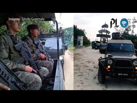 Ejército de Guatemala moviliza tropa en zona adyacente con Belice