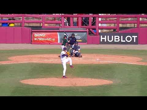 Highlights: Australia v USA - Super Round - WBSC U-18 Baseball World Cup 2017