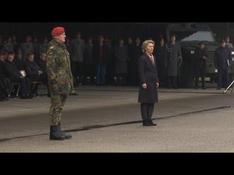 Von der Leyen benennt Kaserne nach verstorbenem Soldaten