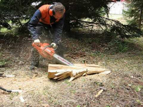 Chainsaw Carving 4 Dragon Head Youtube