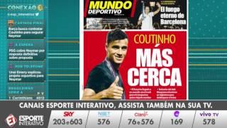PSG dá ultimato para Neymar e últimas informações do acerto Barcelona/Coutinho