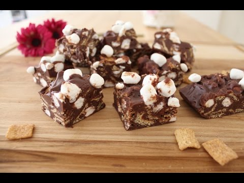 Rocky Road With Cinnamon Toast Crunch