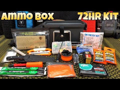 My $5 Ammo Box 3 Day 72Hr Survival Kit