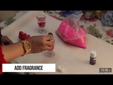 How To Make Gel Glass Candles - YesNo.in