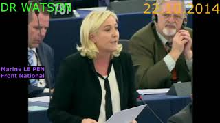 LE PEN DEMOLISHES JUNCKER AFTER VERHOFSTADT WINDS HER UP   CLASSIC